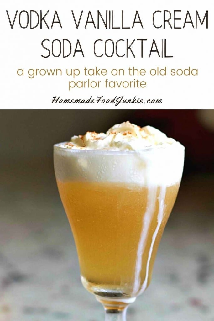 Vodka Vanilla Cream Soda Cocktail-Pin Image