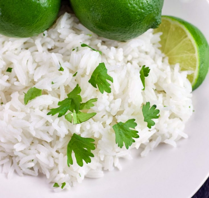 Cilantro Lime Rice 3