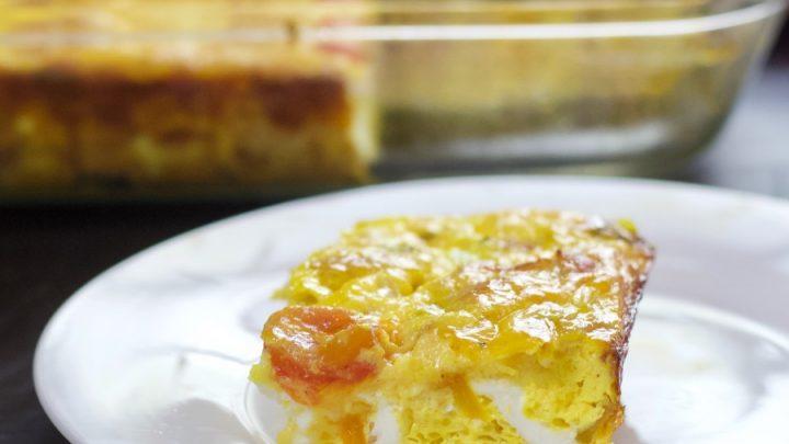 Breakfast Frittata Serving