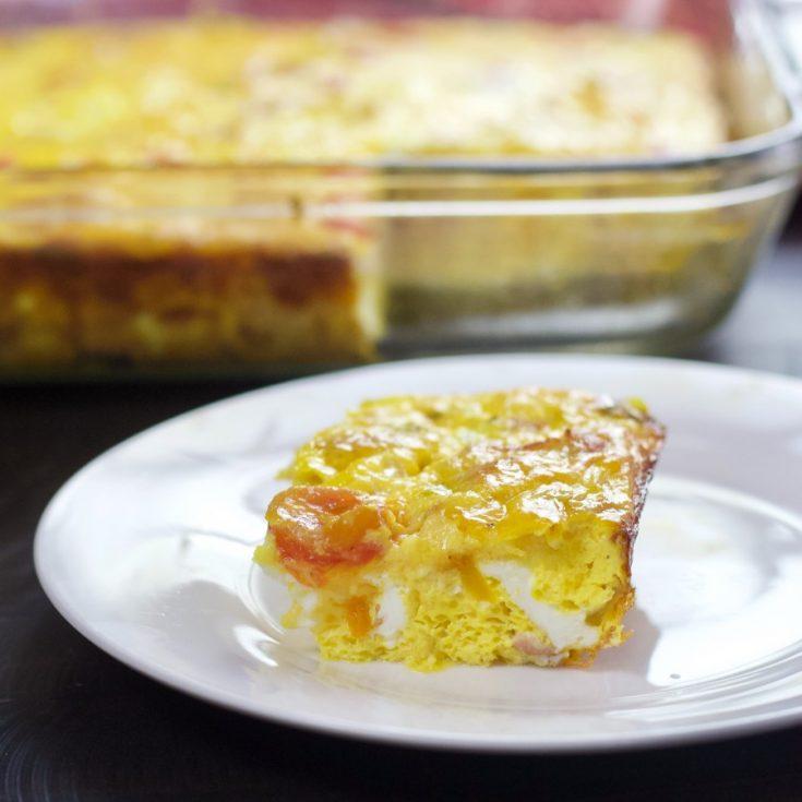 Breakfast Frittata Piece
