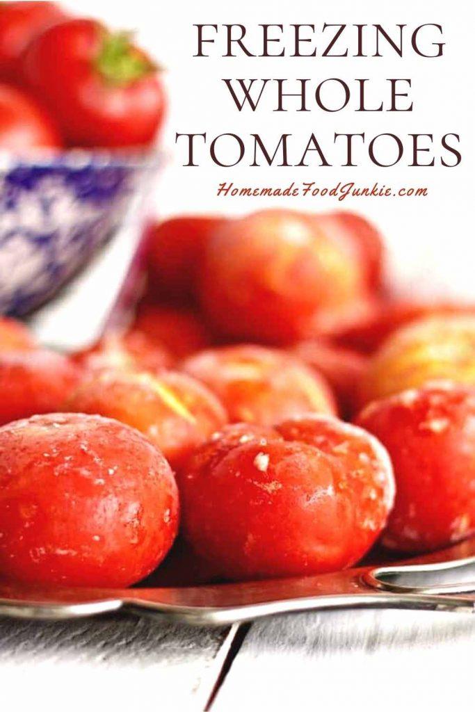 Freezing Whole Tomatoes-Pin Image