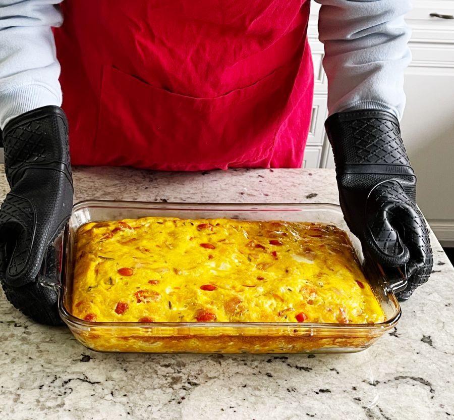 Breakfast Frittata Freshly Baked
