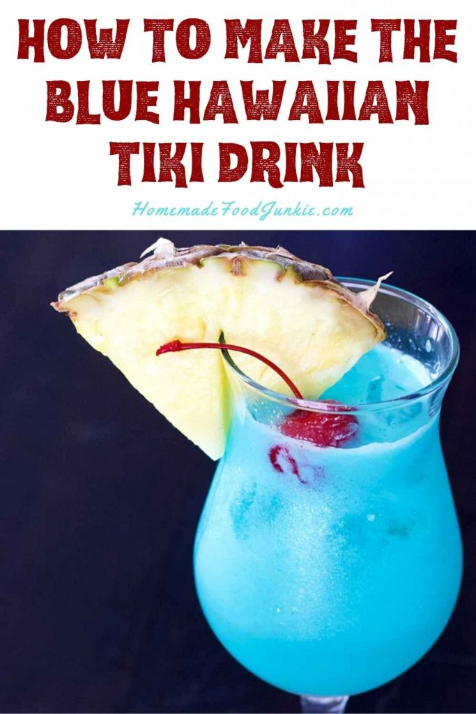 How To Make The Blue Hawaiian Tiki Drink-Pin Image