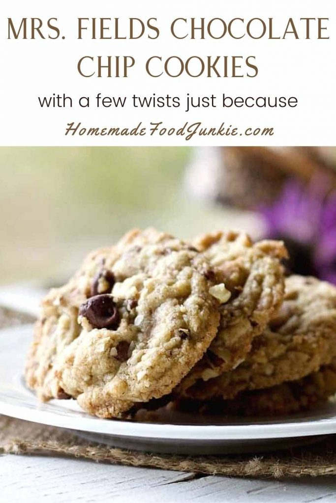 Mrs. Fields Cookie Recipe With A Twist-Pin Image