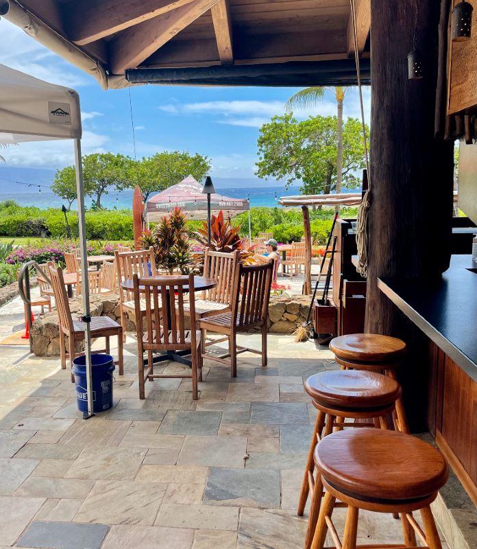 Open Air Bar-Maui