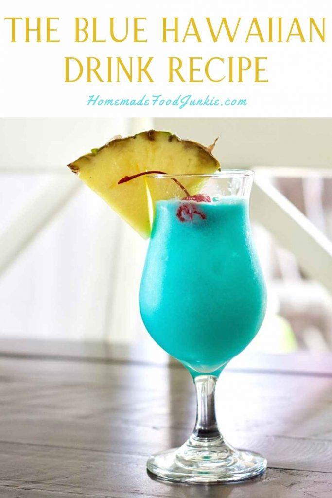 The Blue Hawaiian Drink Recipe-Pin Image