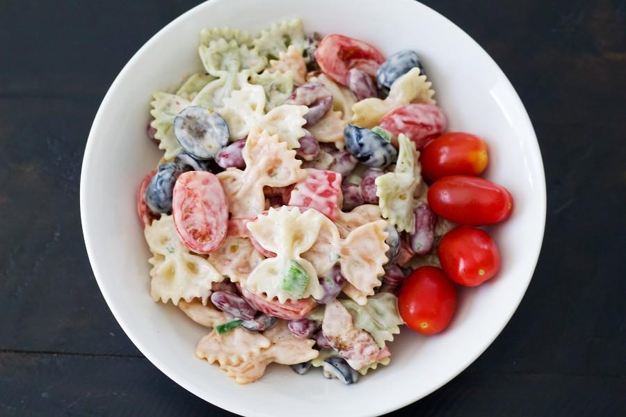 Bacon Ranch Pasta Salad Single Serving