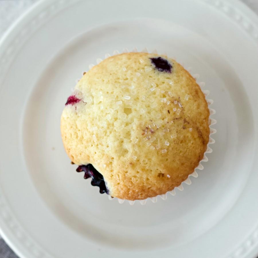 Buttermilk Blueberry Muffin-Top View