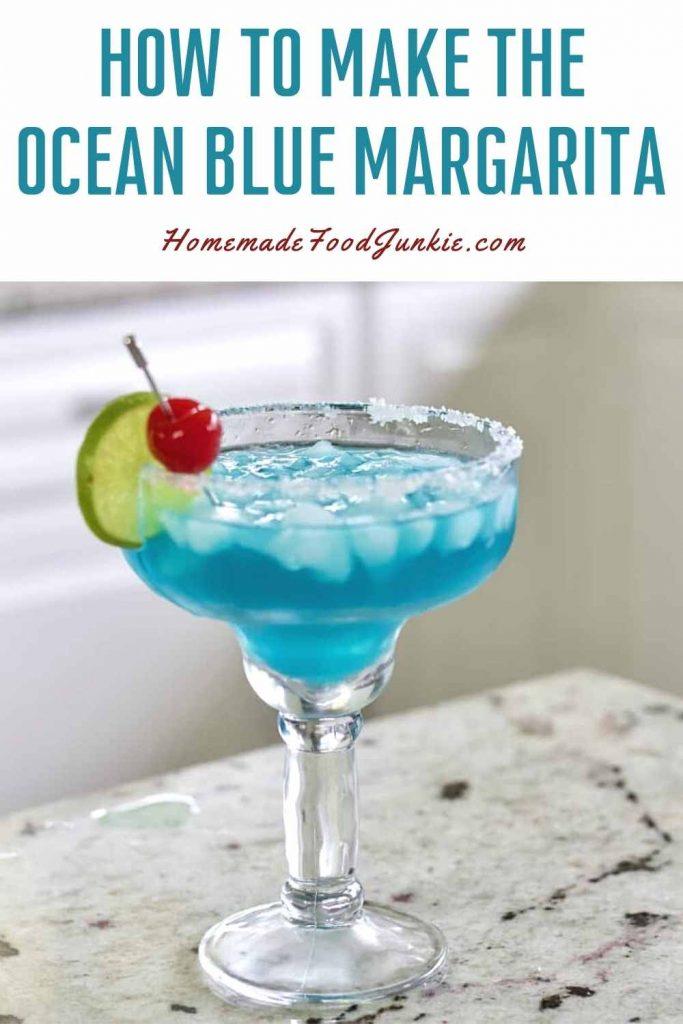 How To Make The Ocean Blue Margarita-Pin Image