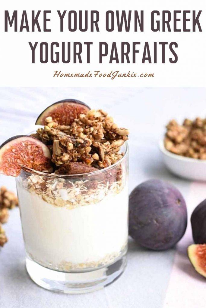 Make Your Own Greek Yogurt Parfaits-Pin Image
