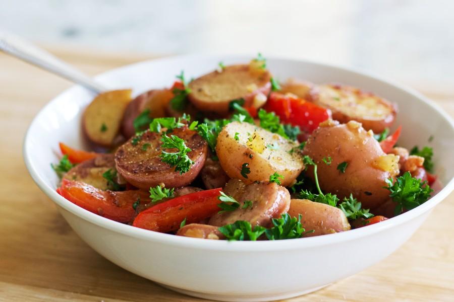 Sausage And Potato Skillet Recipe