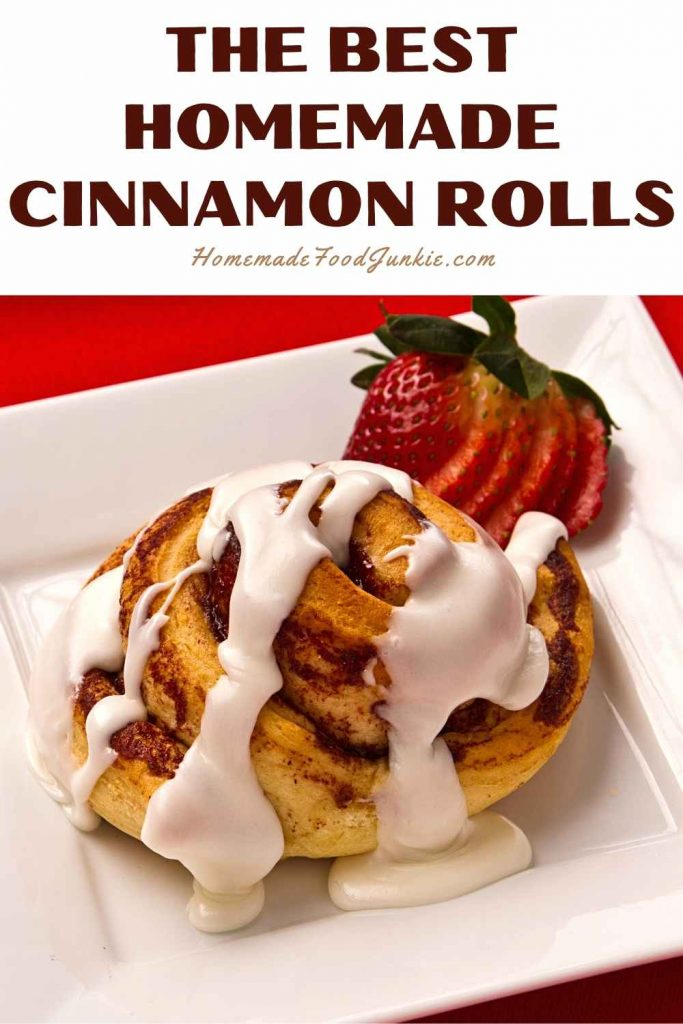 The Best Homemade Cinnamon Rolls-Pin Image