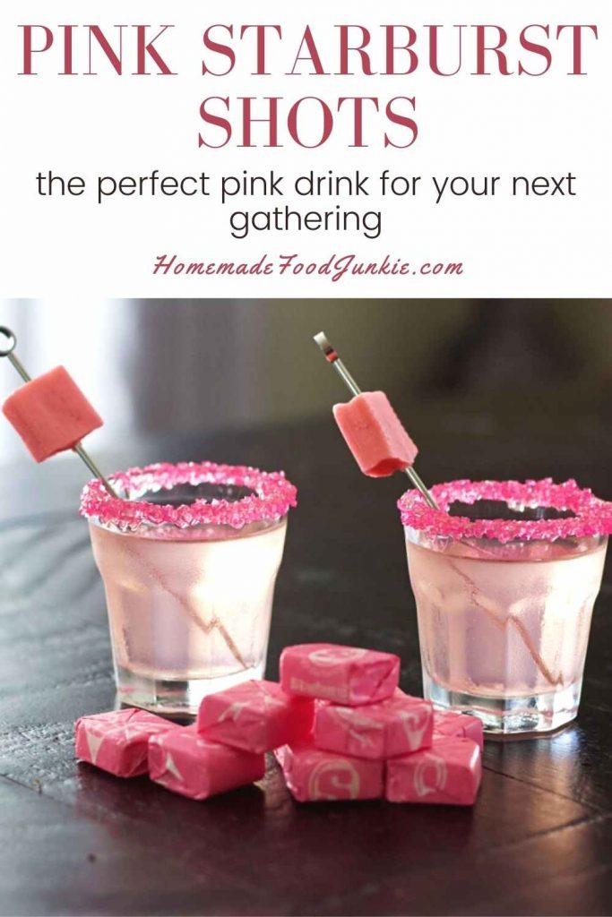 Pink Starburst Shots-Pin Image
