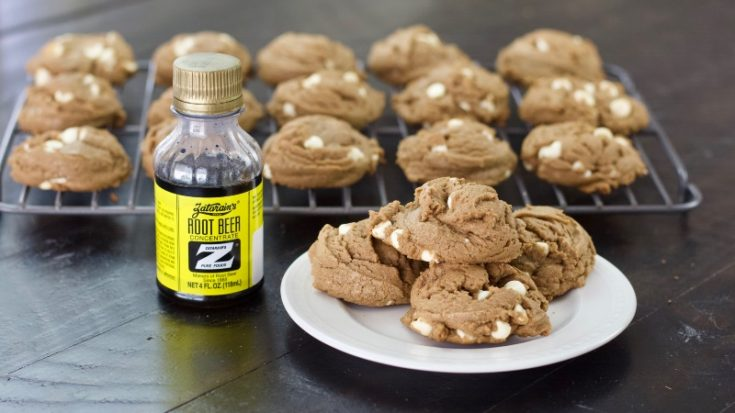 Root Beer Float Cookies With Rootbeer Concentrate