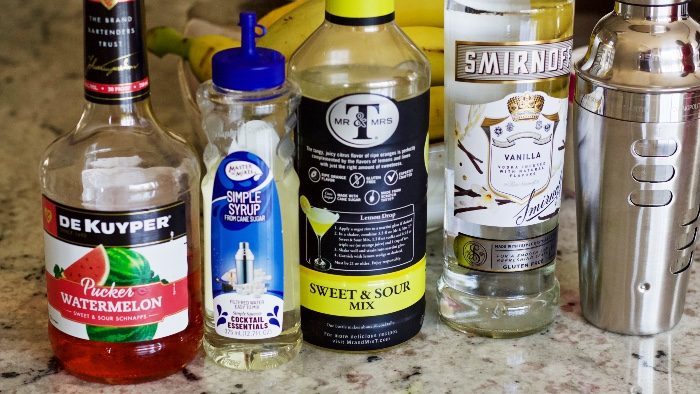 Starburst Shot Ingredients