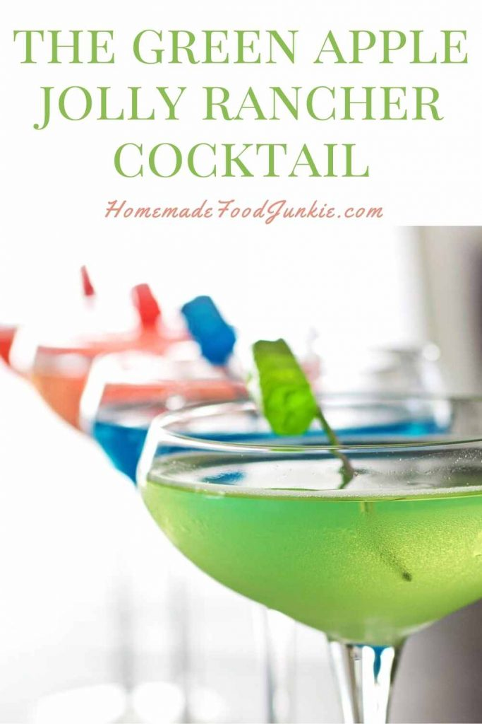 The Green Apple Jolly Rancher Cocktail-Pin Image
