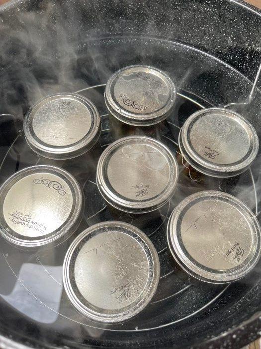 Waterbacth Canner Full Of Jars