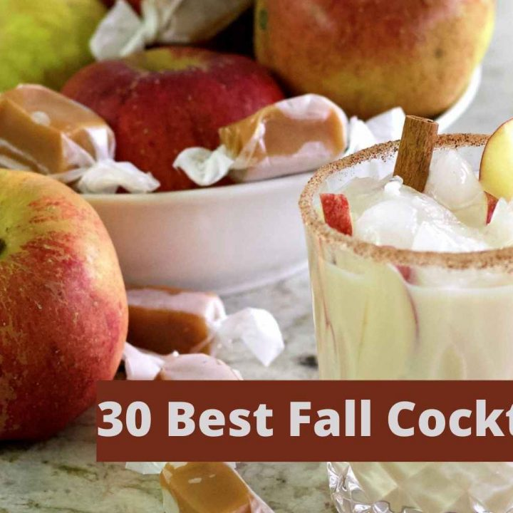 30 best Fall Cocktails
